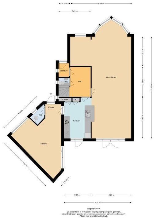 Pieter de Hooghstraat 36, Heemstede plattegrond-39
