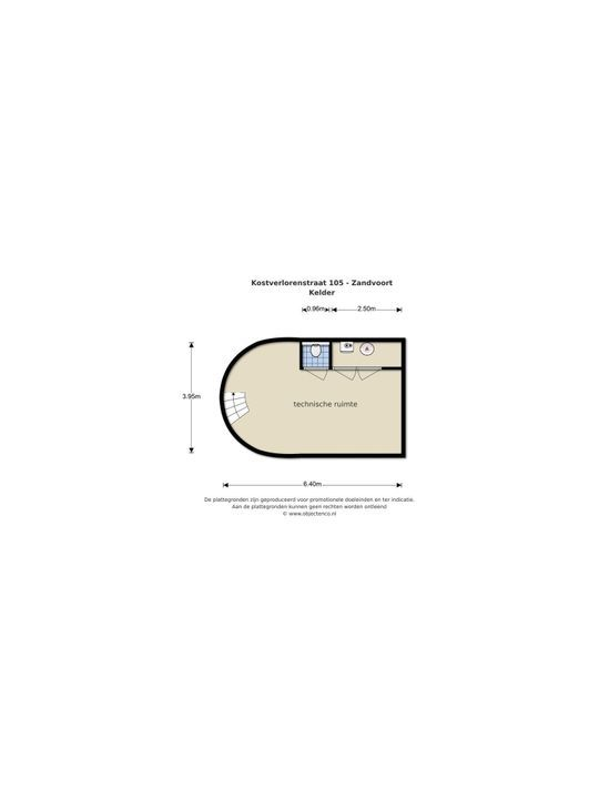 Kostverlorenstraat 105, Zandvoort plattegrond-51