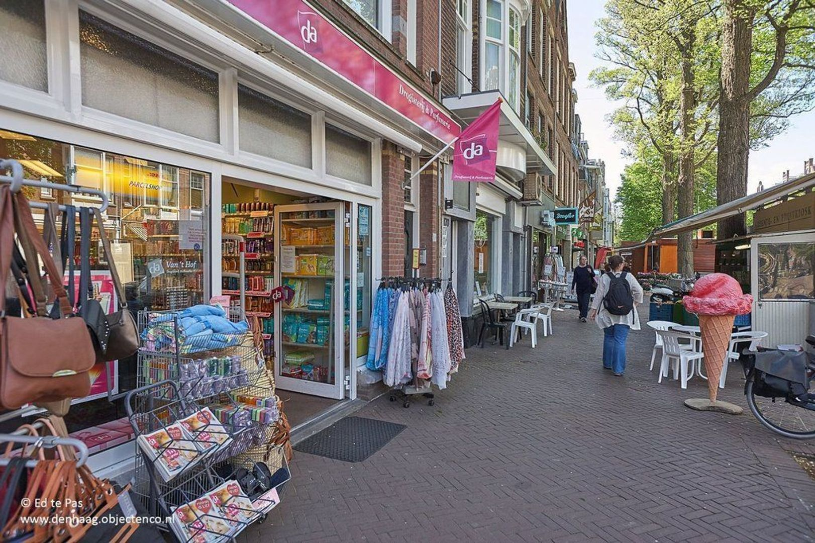 Nicolaistraat, Den Haag foto-30 blur