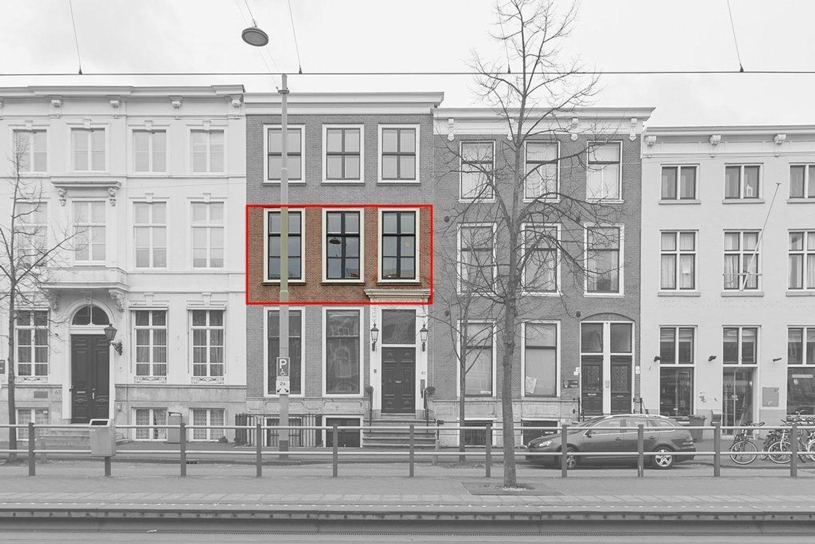 Prinsegracht, Den Haag foto-2 blur