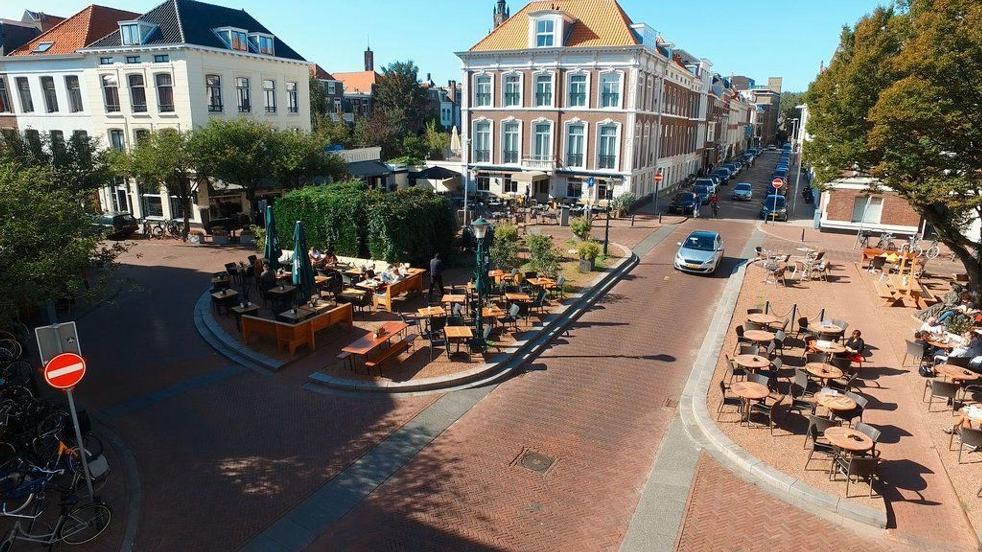 Zeestraat, Den Haag foto-22 blur