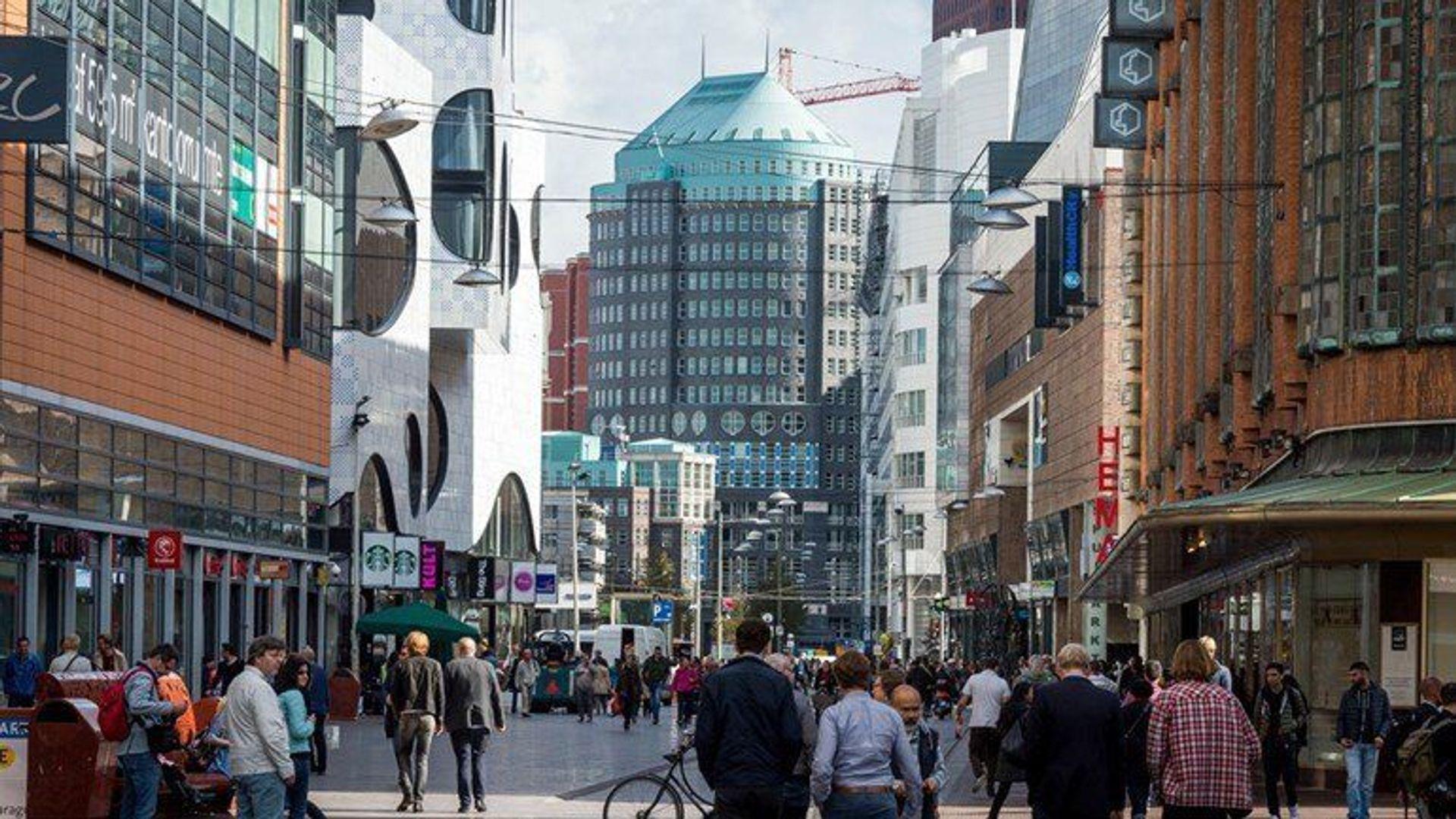 Wagenstraat, Den Haag foto-16 blur