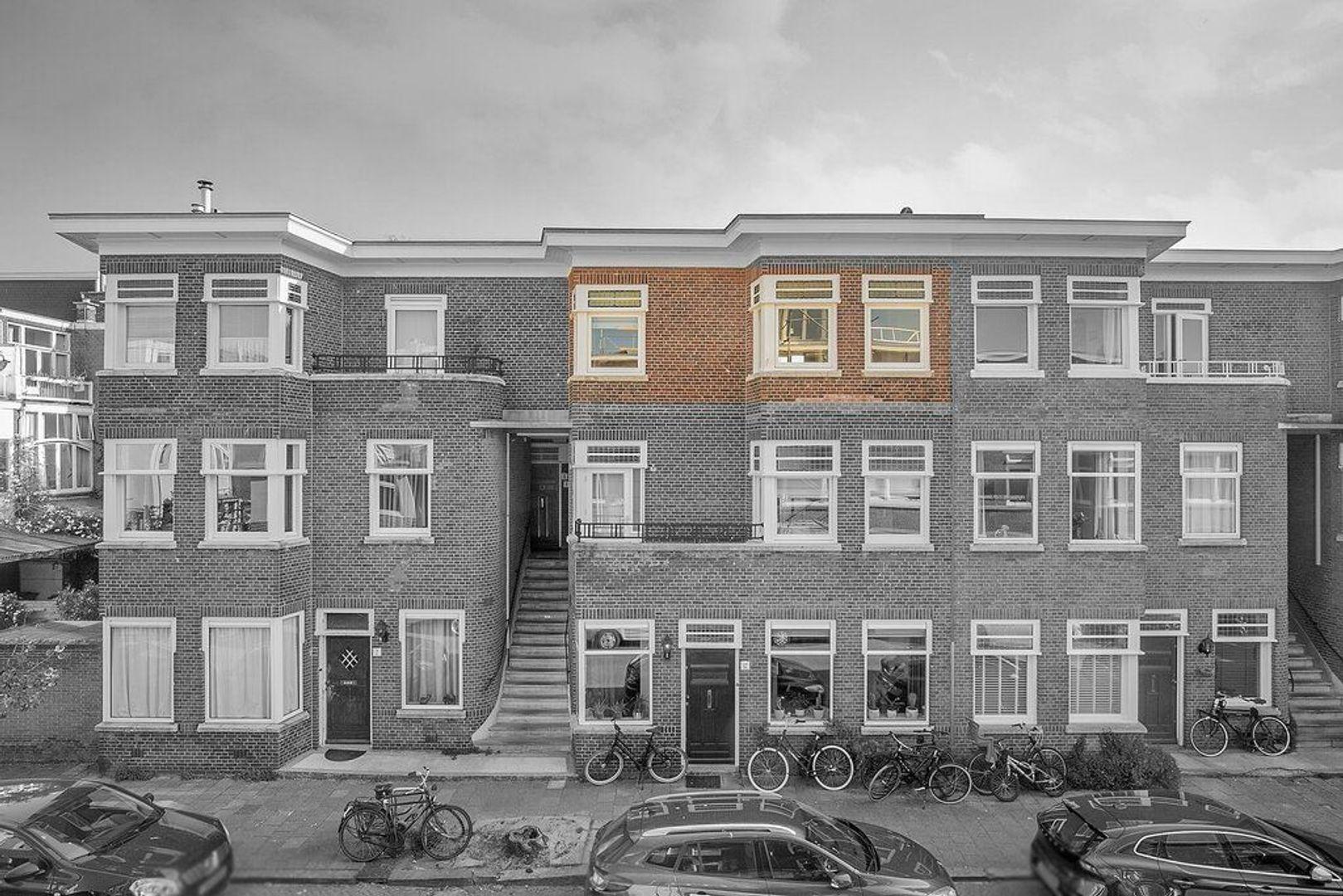 De Moucheronstraat, Den Haag foto-28 blur