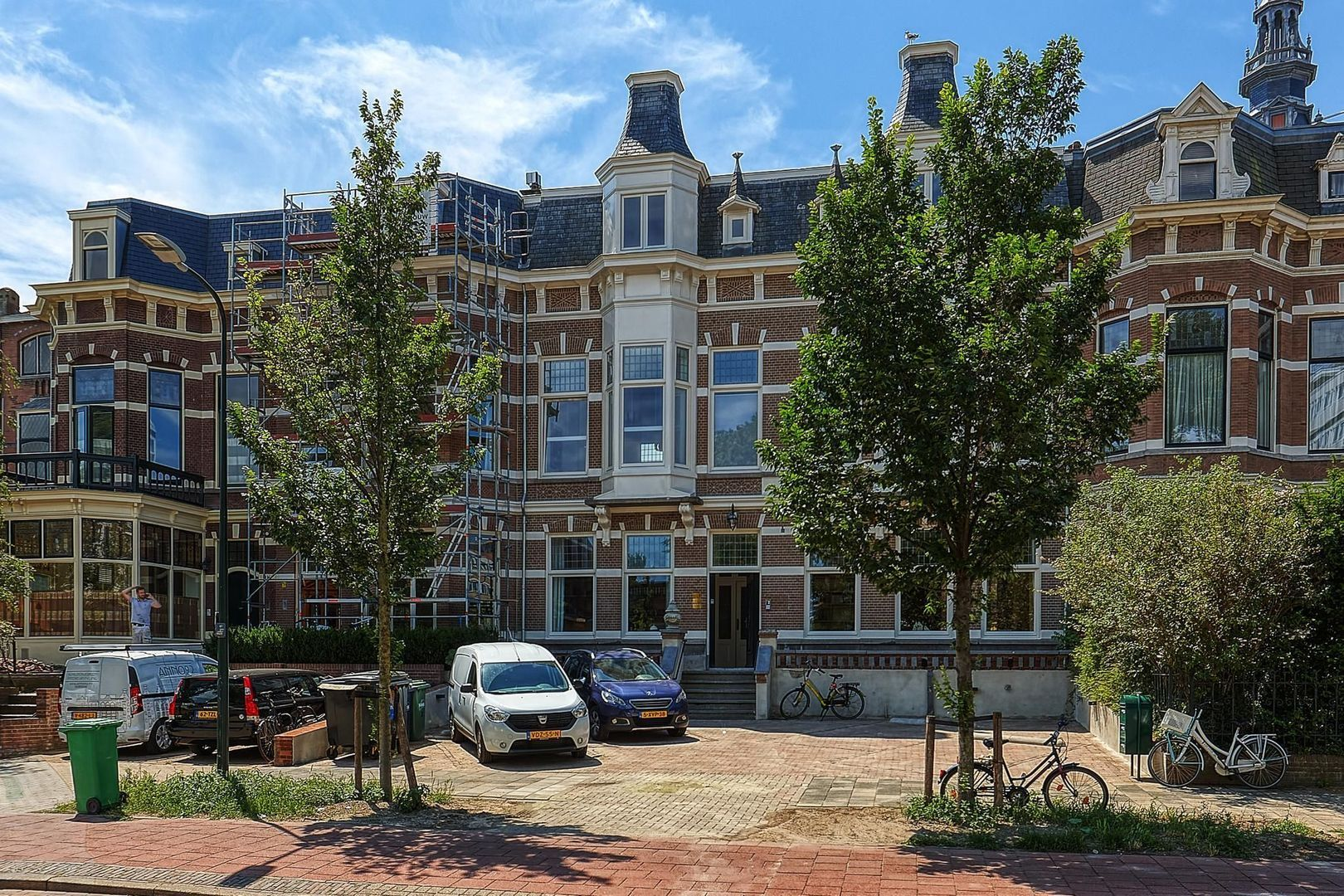 Scheveningseweg, Den Haag foto-42 blur