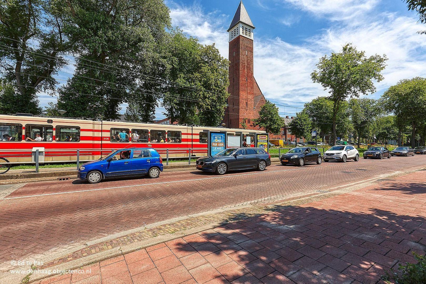 Scheveningseweg, Den Haag foto-46 blur