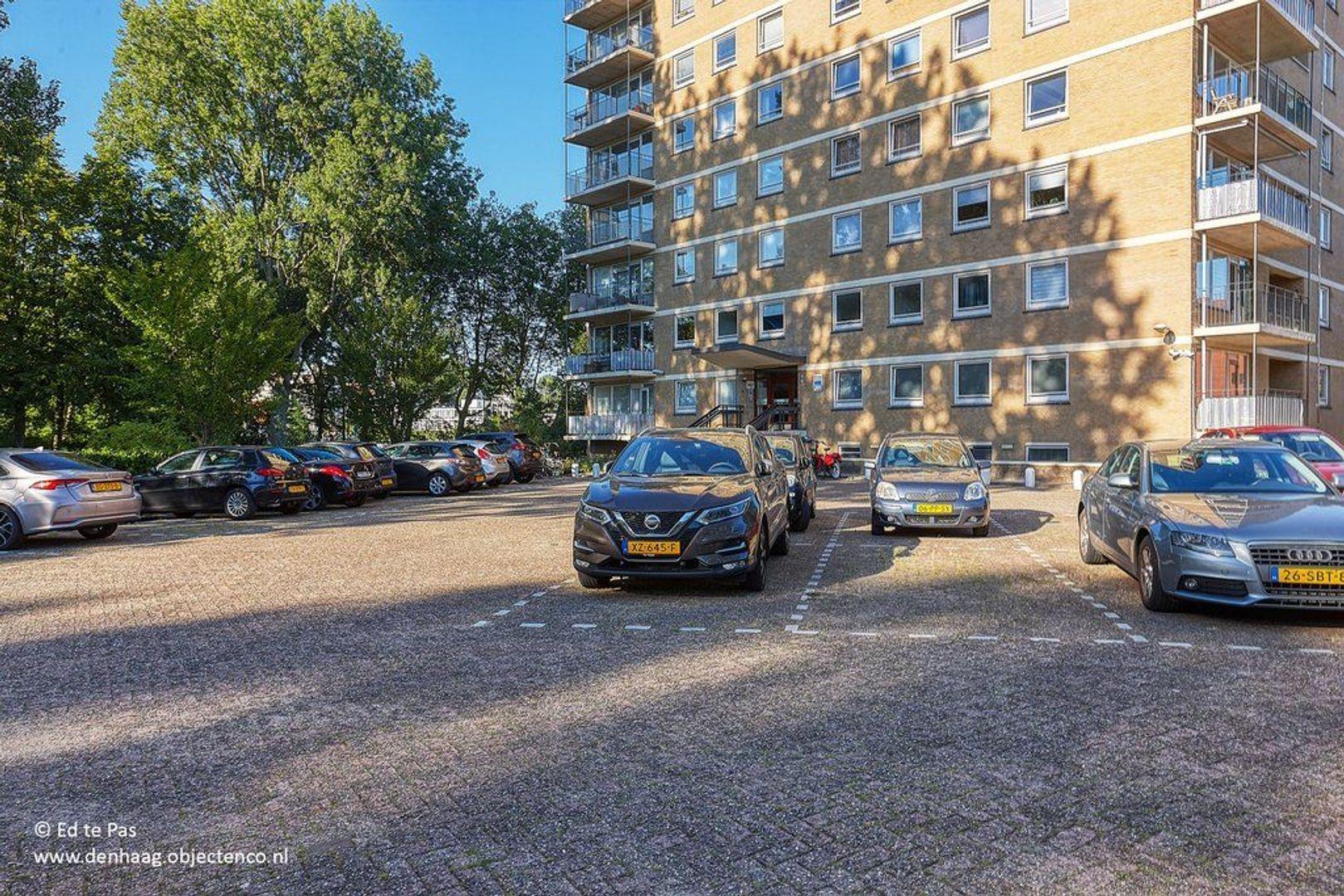 Hongarenburg, Den Haag foto-27 blur