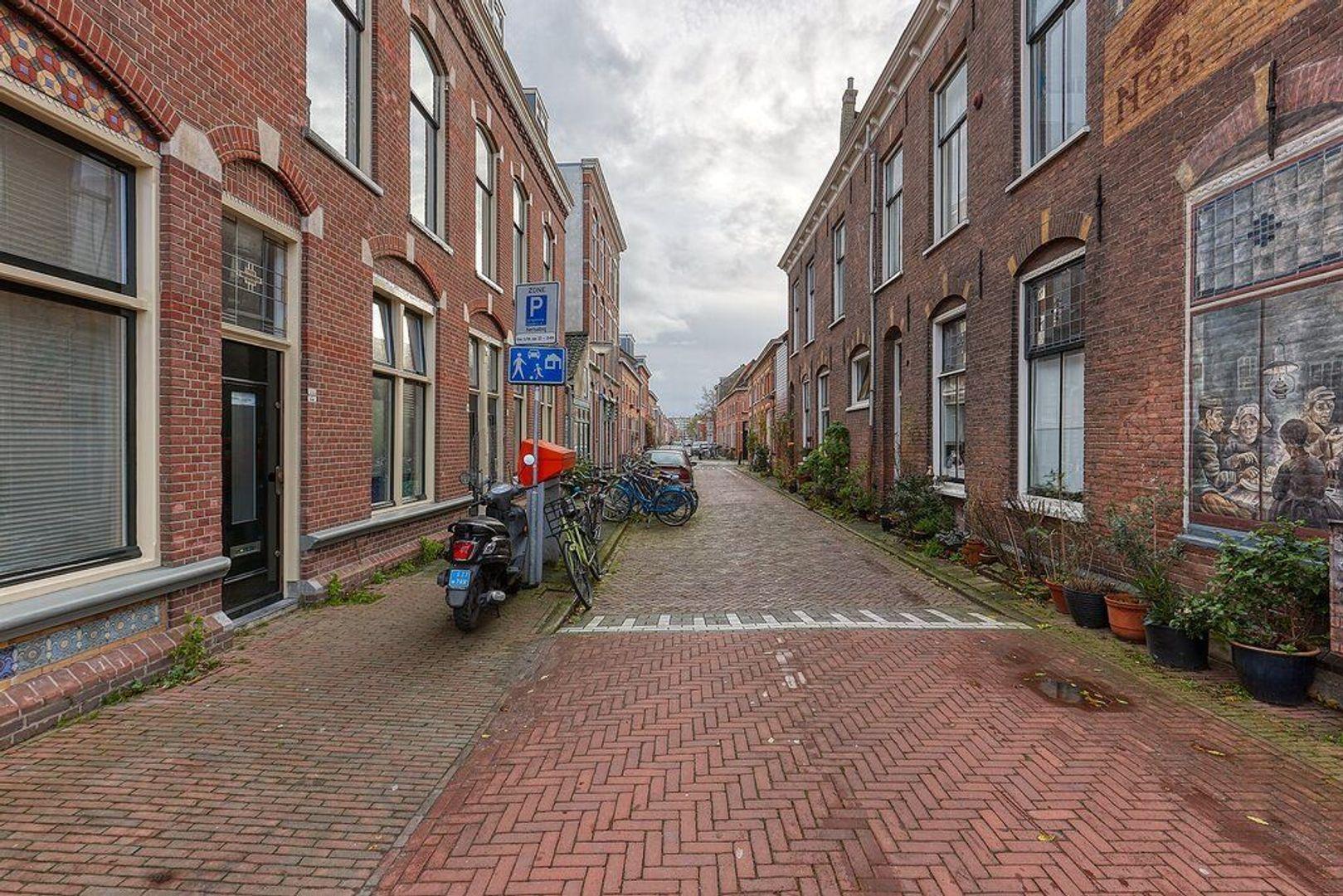 Van Bleyswijckstraat, Delft foto-18 blur