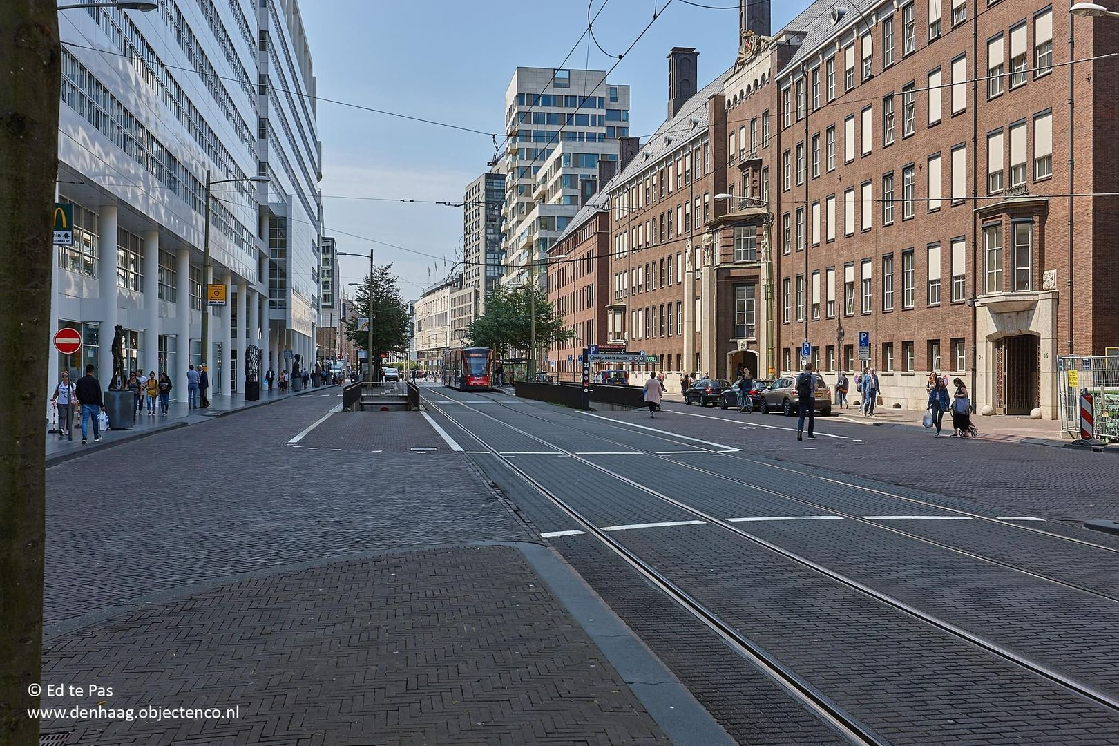 Korte Houtstraat, Den Haag foto-20 blur