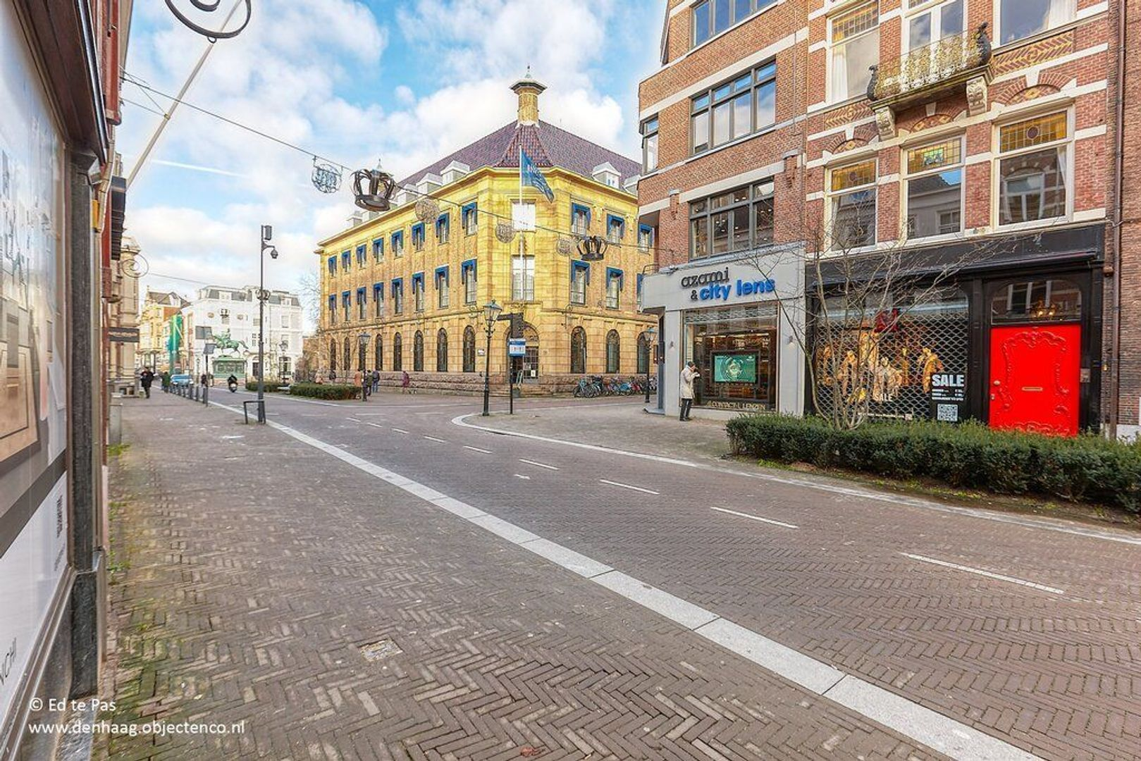 Noordeinde, Den Haag foto-23 blur