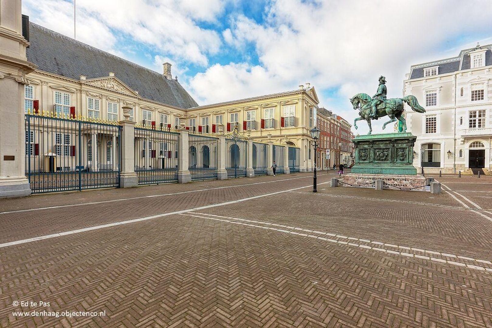 Noordeinde, Den Haag foto-25 blur
