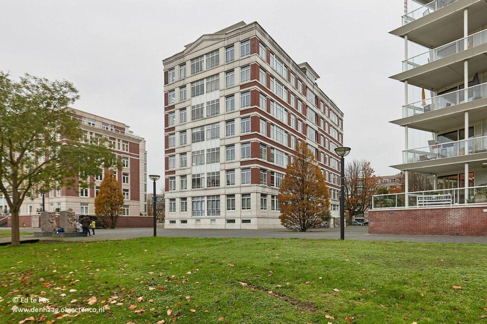 Burgemeester De Monchyplein, Den Haag foto-24 blur