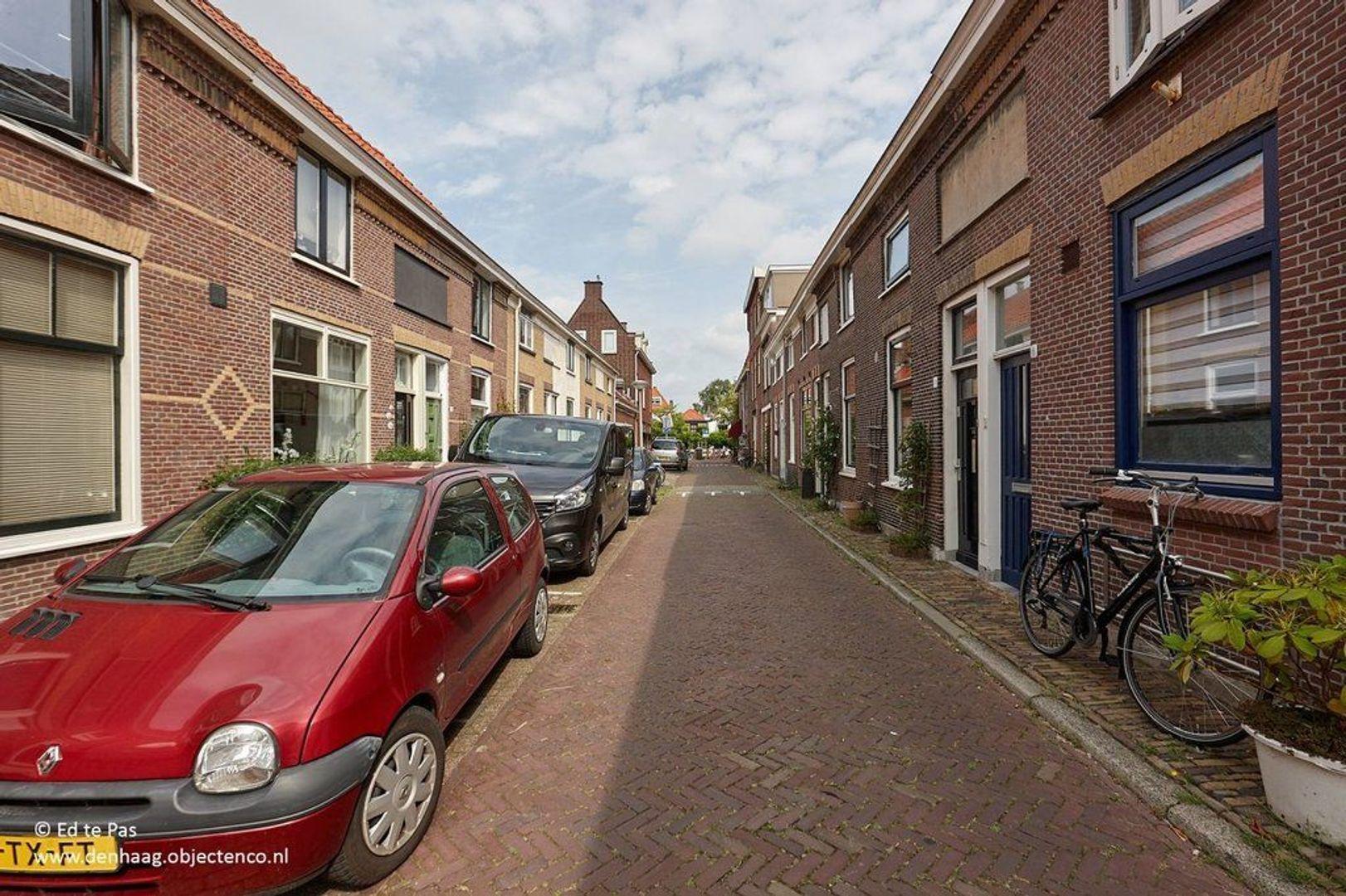 Graswinckelstraat, Delft foto-24 blur