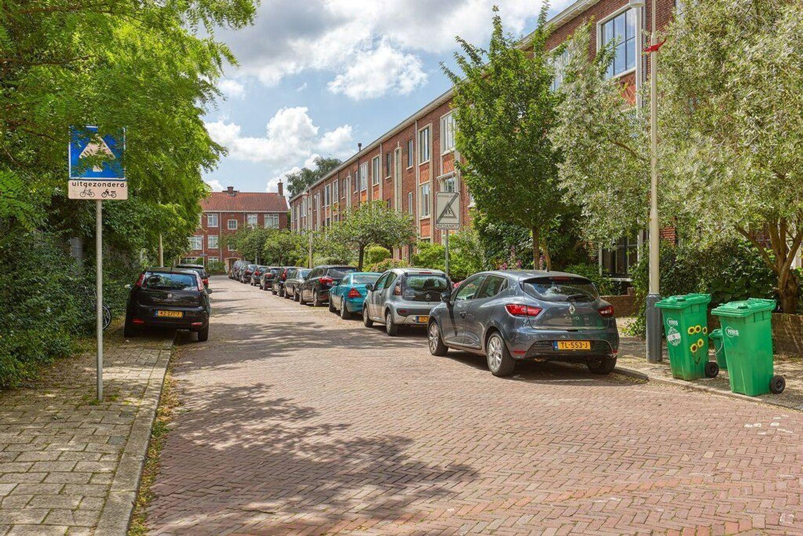 Spaarwaterstraat, Den Haag foto-3 blur