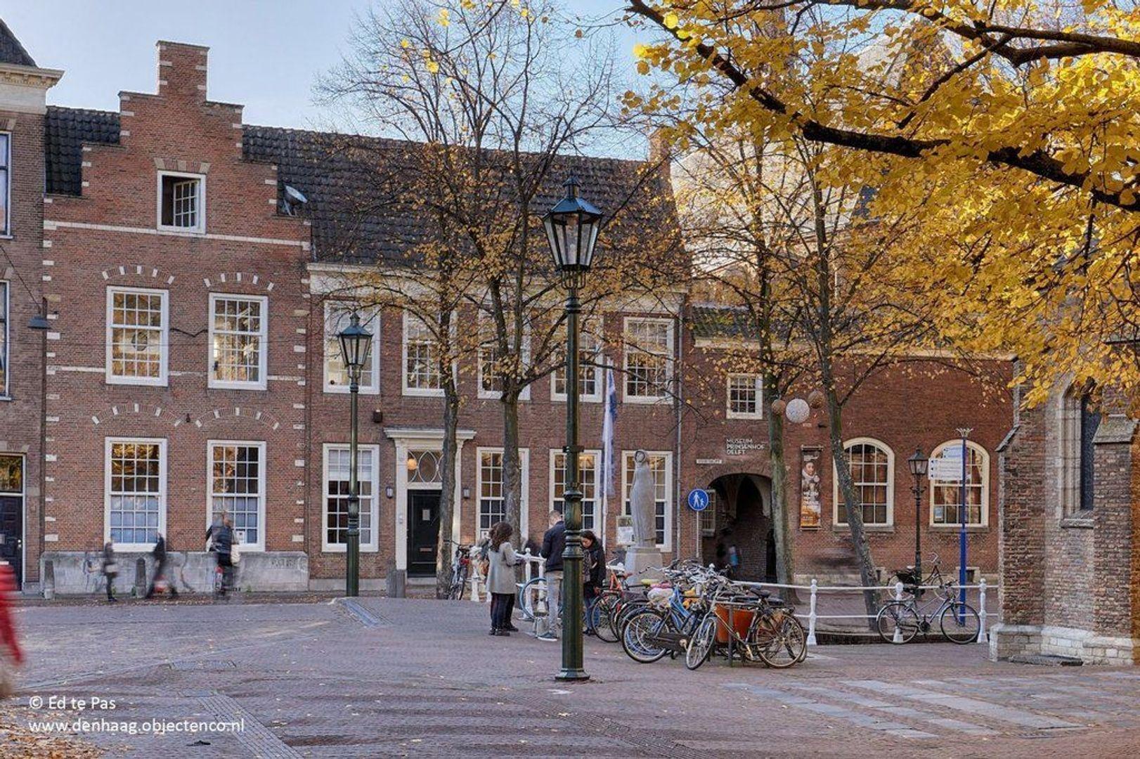 Oude Delft, Delft foto-3 blur