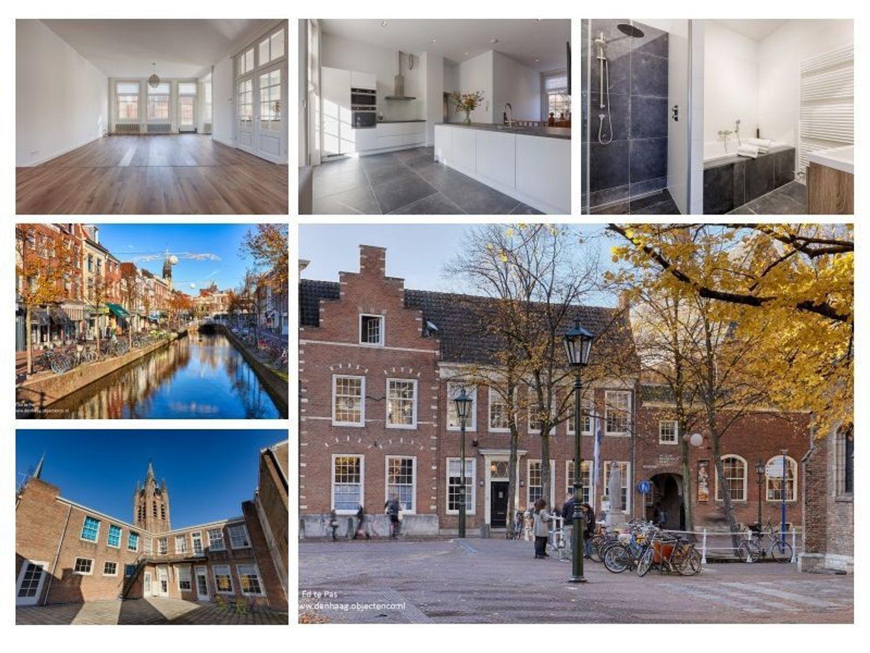 Oude Delft, Delft foto-1 blur