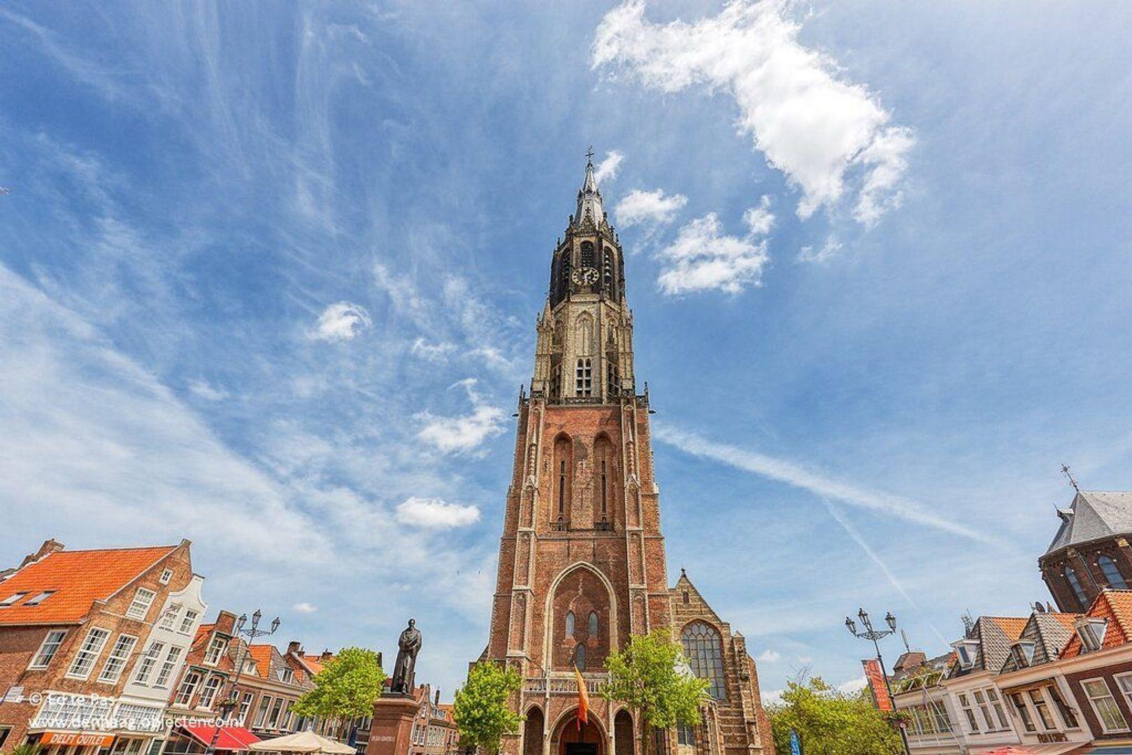 Koornmarkt, Delft foto-15 blur