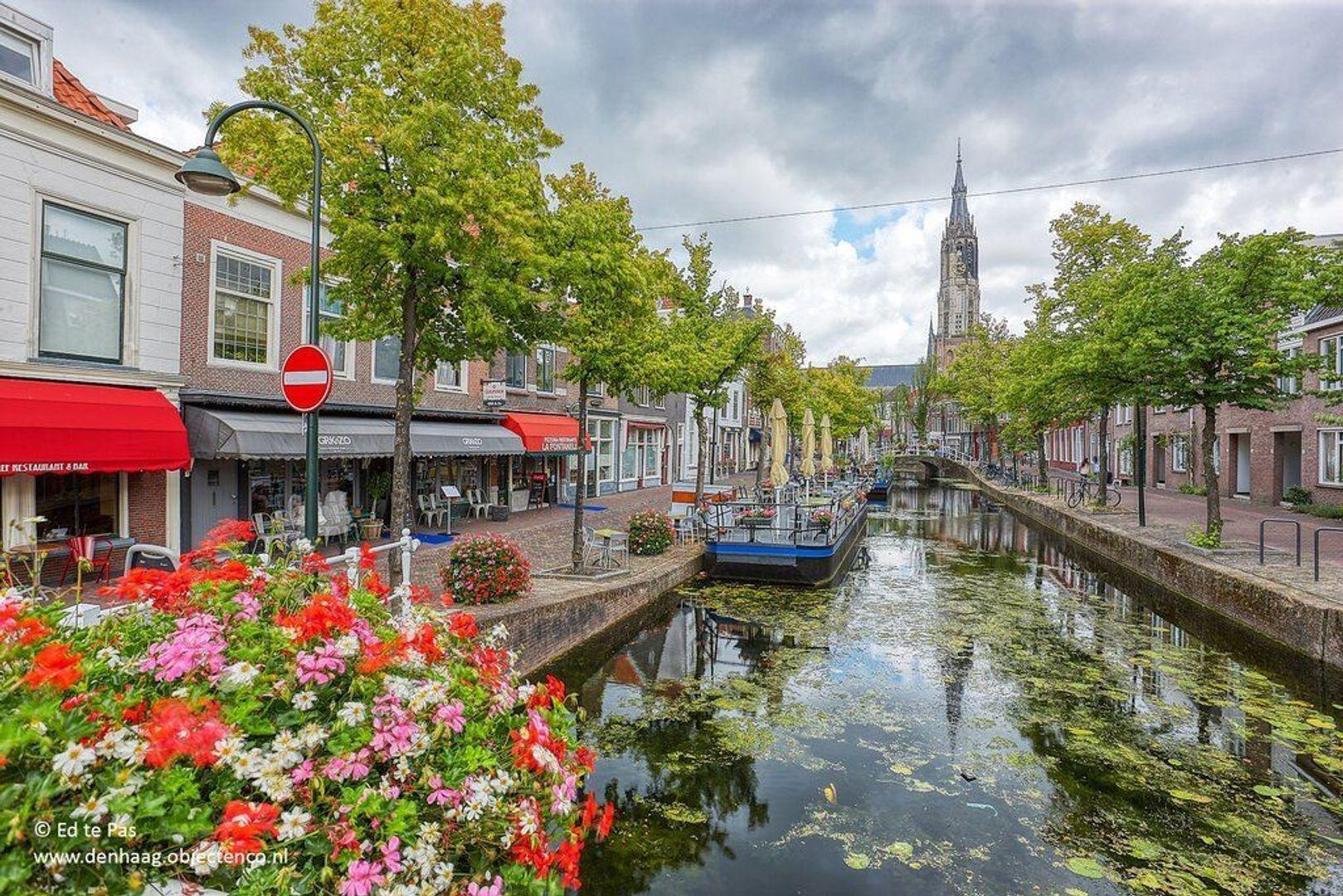 Koornmarkt, Delft foto-19 blur