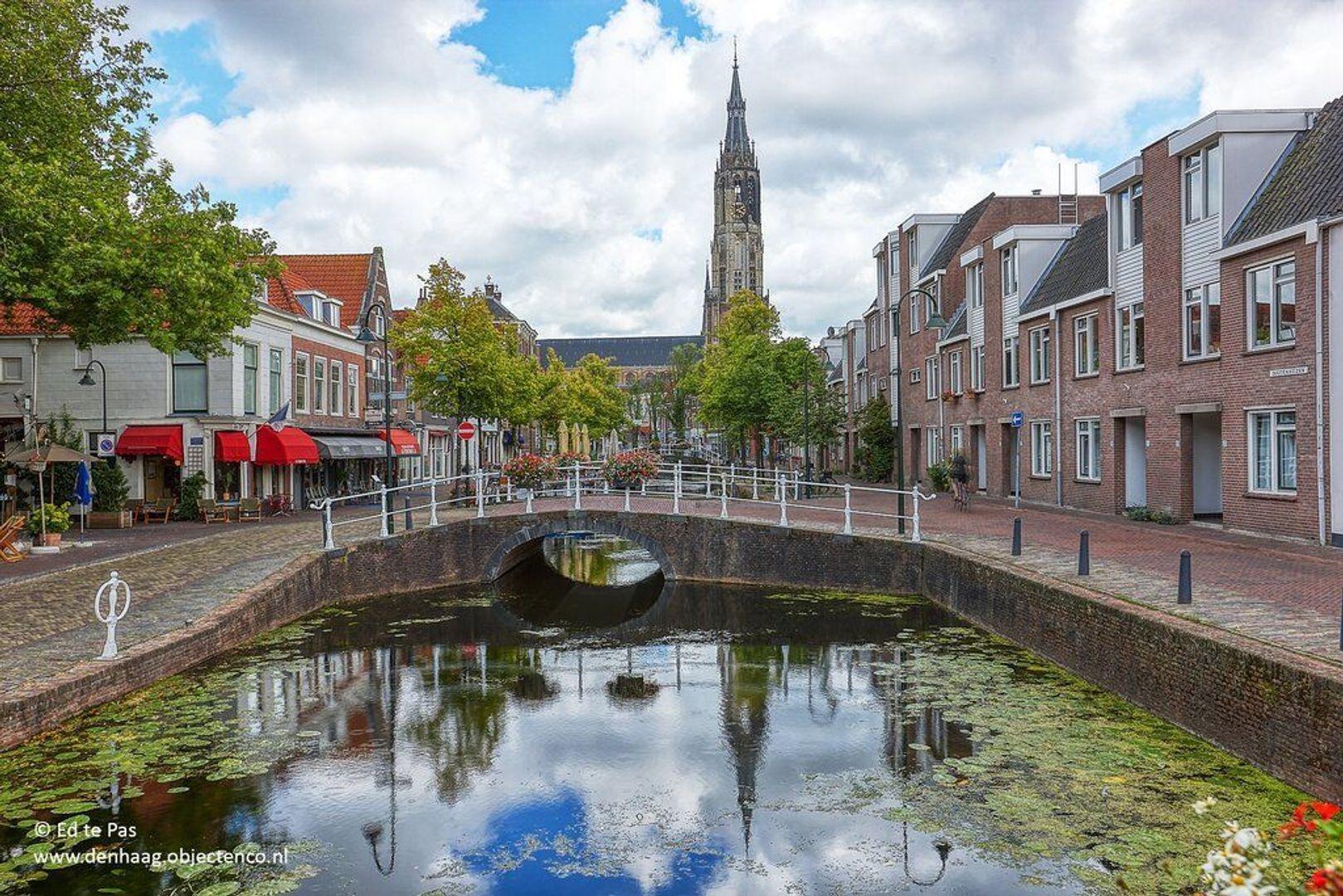 Koornmarkt, Delft foto-20 blur