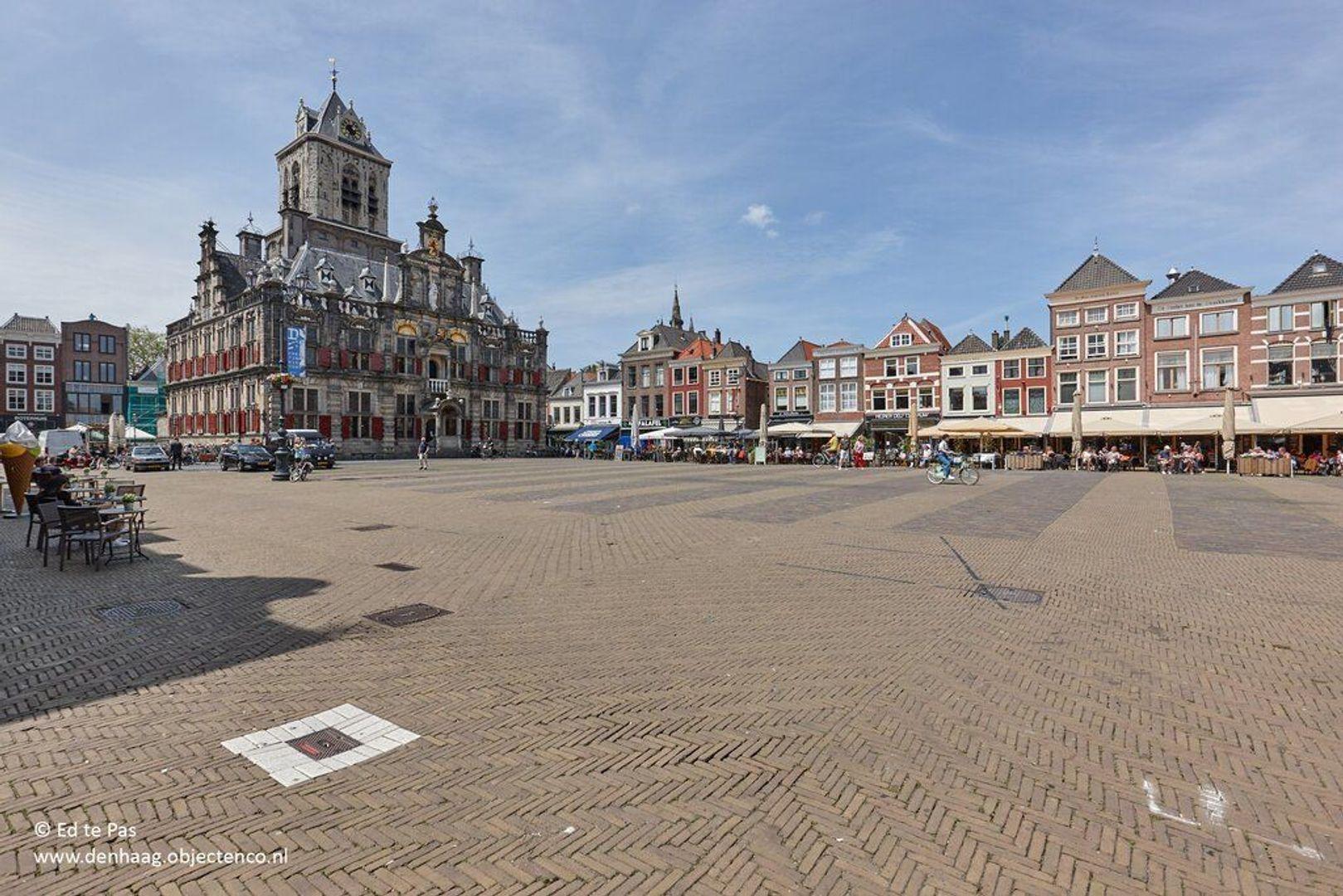 Koornmarkt, Delft foto-17 blur