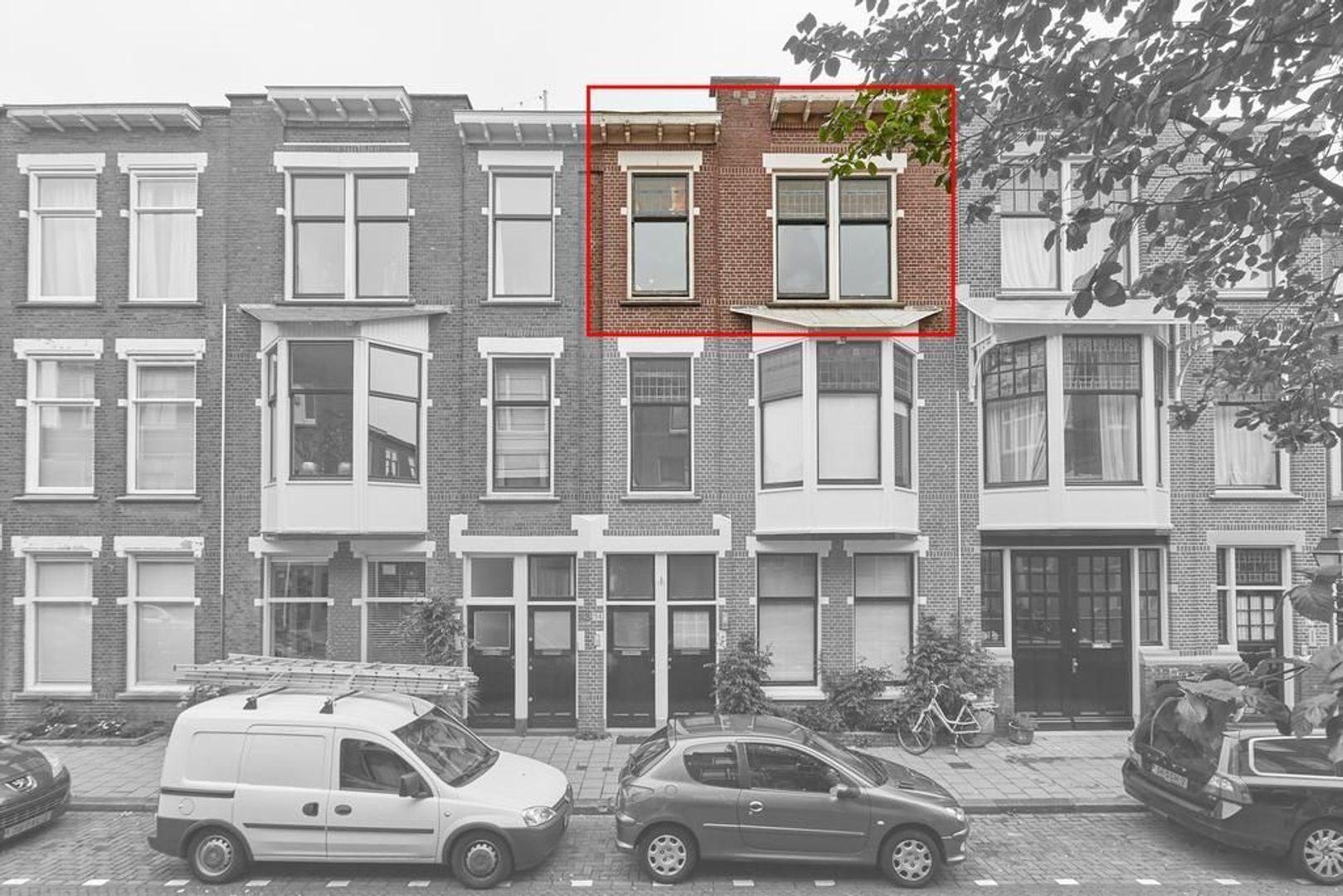 Van Beverningkstraat, Den Haag foto-2 blur