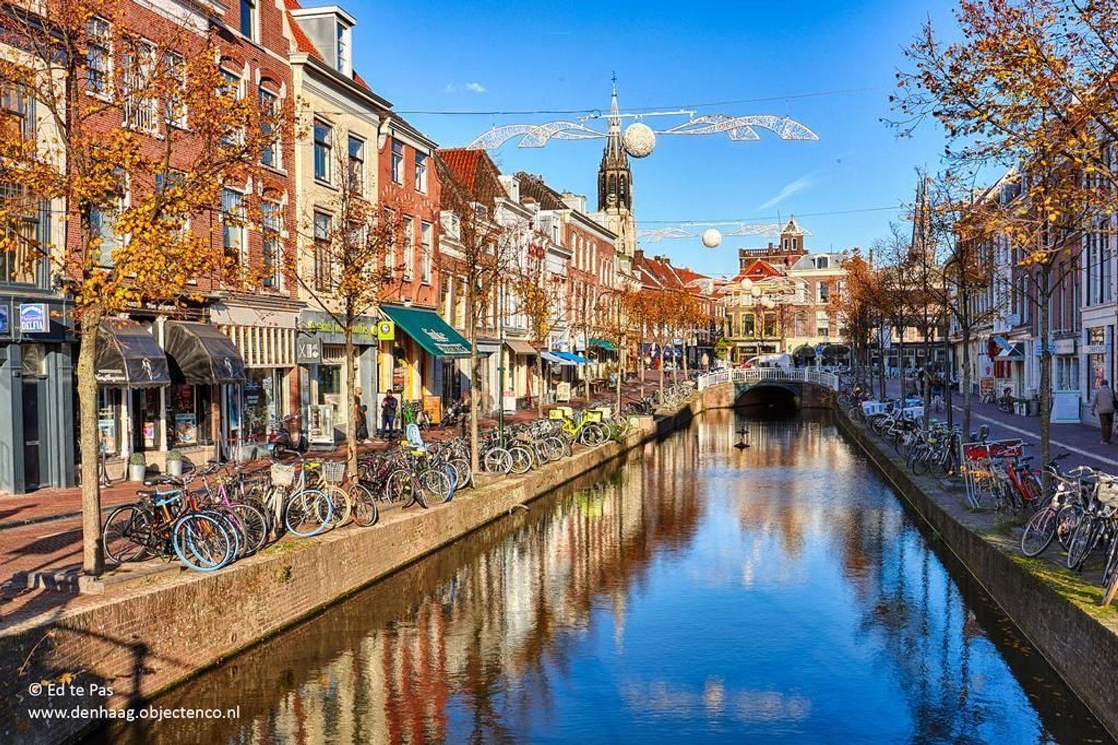 Oude Delft, Delft foto-34 blur