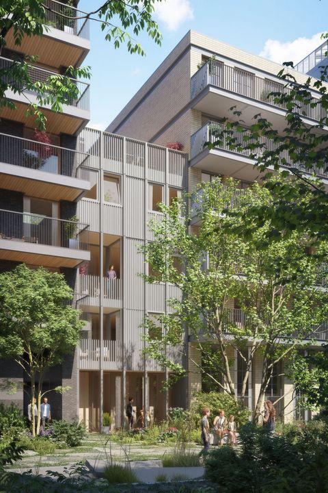 De Hout Eiland Oostenburg, Amsterdam