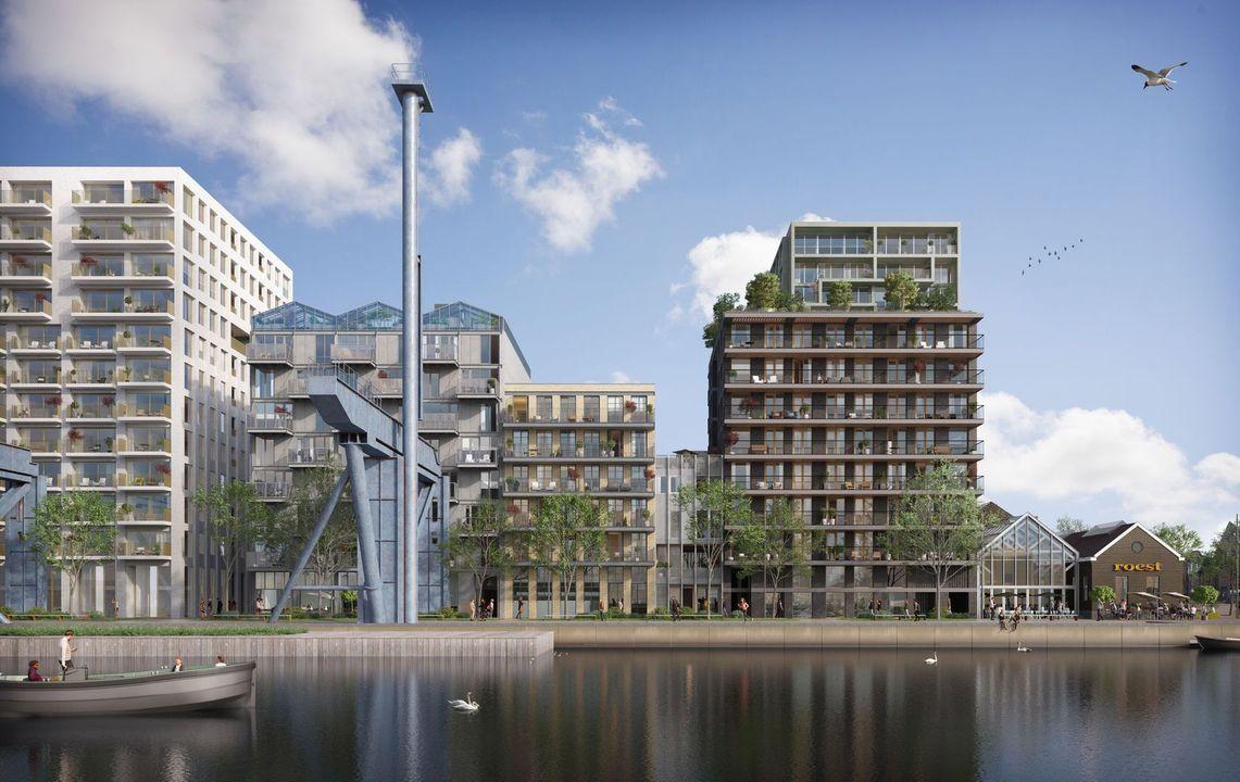 De Vijzel Eiland Oostenburg, Amsterdam