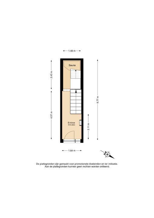 Voorstraat 9 B, Delft plattegrond-3