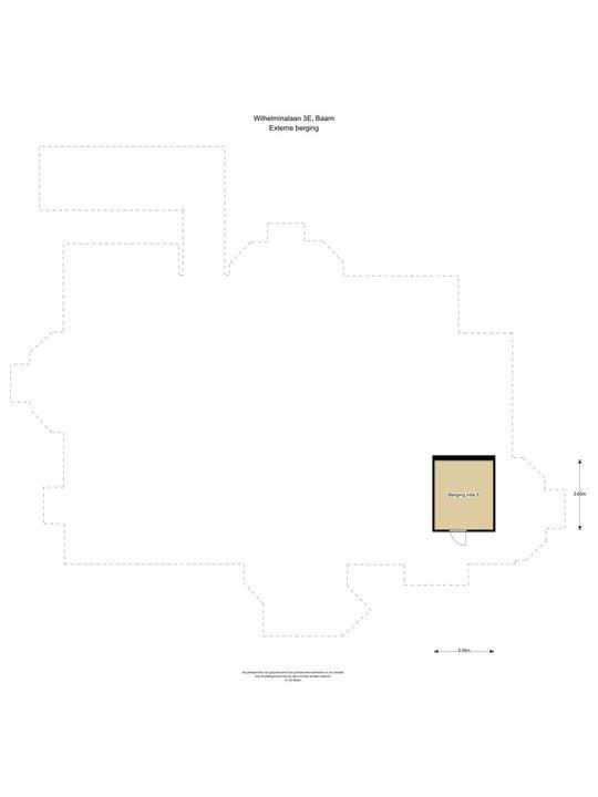 Wilhelminalaan 3 E, Baarn plattegrond-