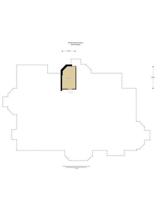 Wilhelminalaan 3 N, Baarn plattegrond-