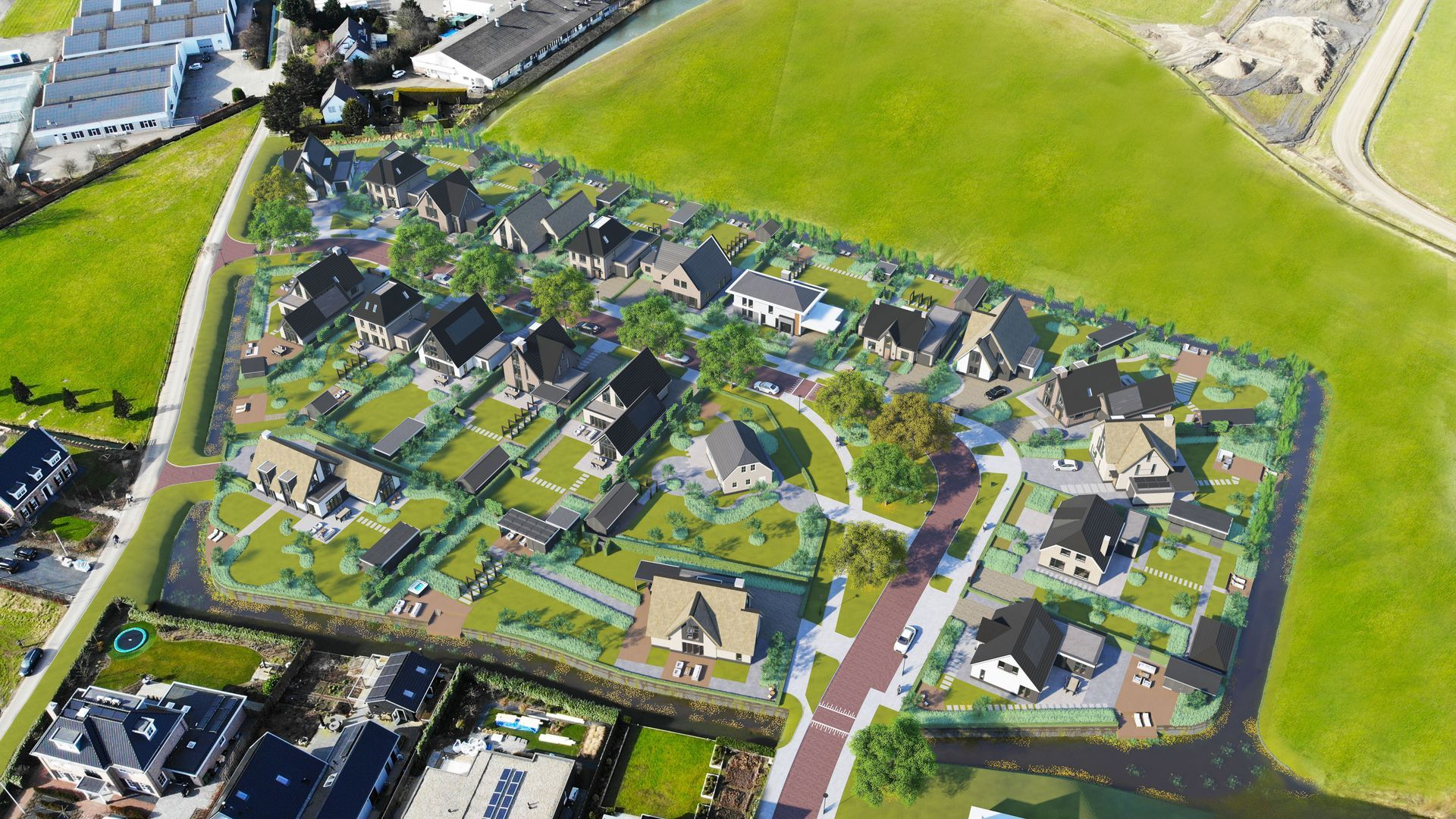 Villapark Mezenlaan, Rijnsburg foto-