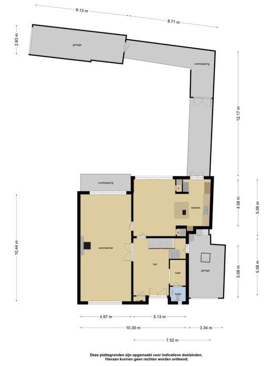 Leijsenhoek 50, Oosterhout nb plattegrond-