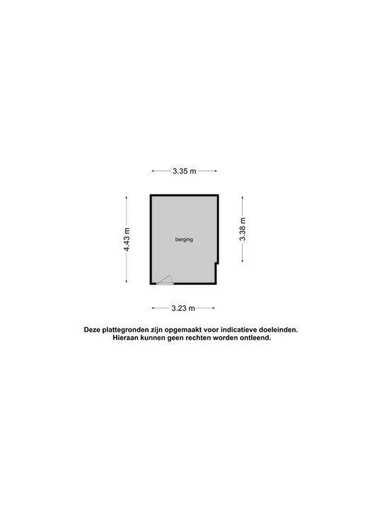 Kapucijnenhof 28, Oosterhout nb plattegrond-