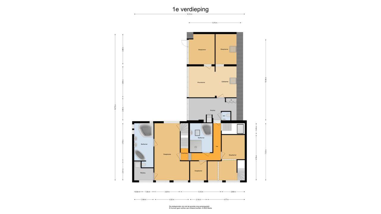 Jhr. K.W.L. de Muraltstraat 8, Ter Aar plattegrond-