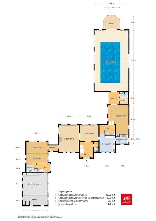 Eendekooi 32, Drunen plattegrond-