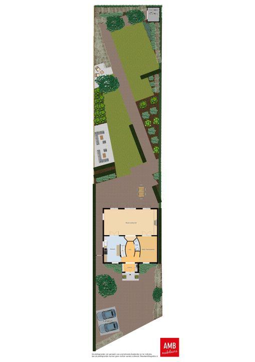 Hogeweg 7 B, Drunen plattegrond-