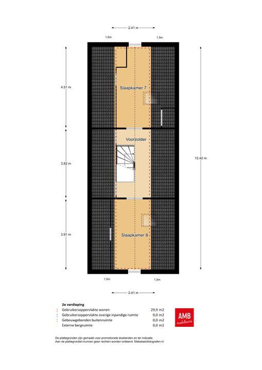 Jan van Engelenstraat 6, Haarsteeg plattegrond-