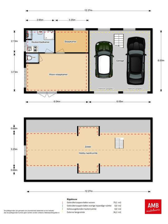 loverensestraat 24, Cromvoirt plattegrond-