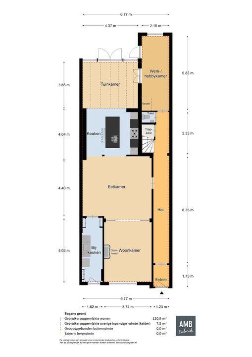 Taalstraat 111, Vught plattegrond-