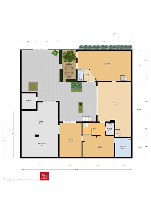 Tweeberg 17, Rosmalen plattegrond-