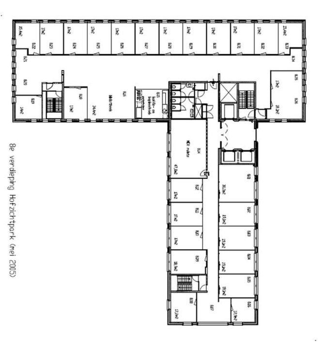 Bordewijklaan 38, Den Haag plattegrond-4