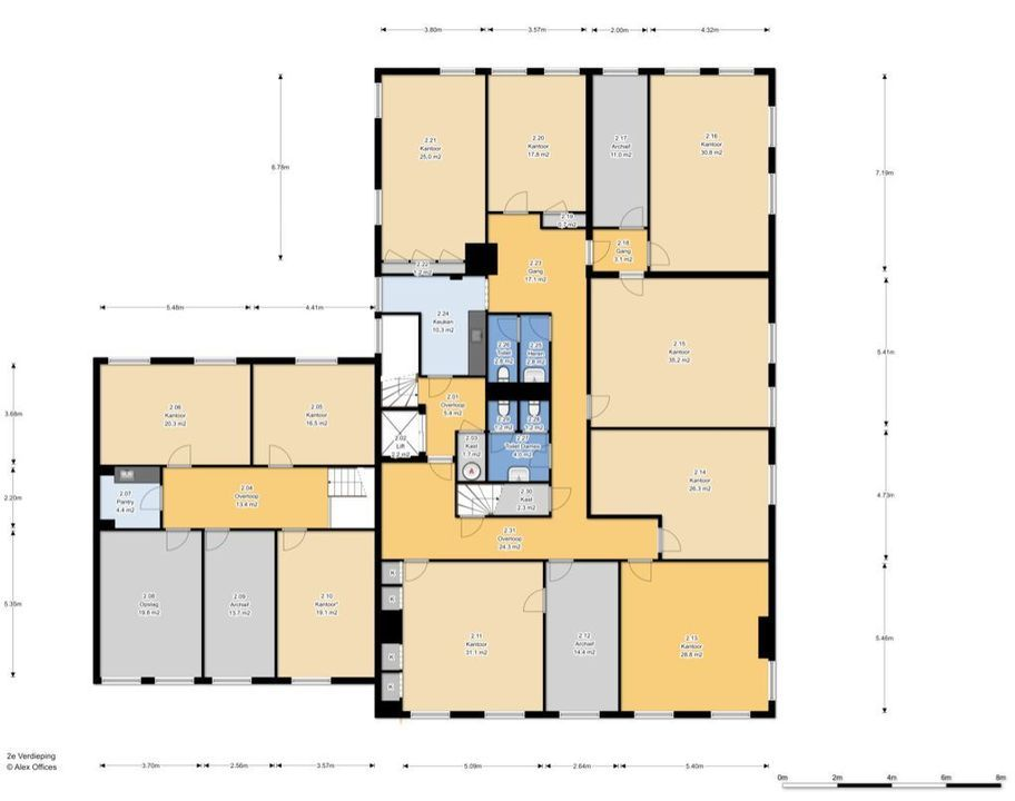 Nassaulaan 13, Den Haag plattegrond-14