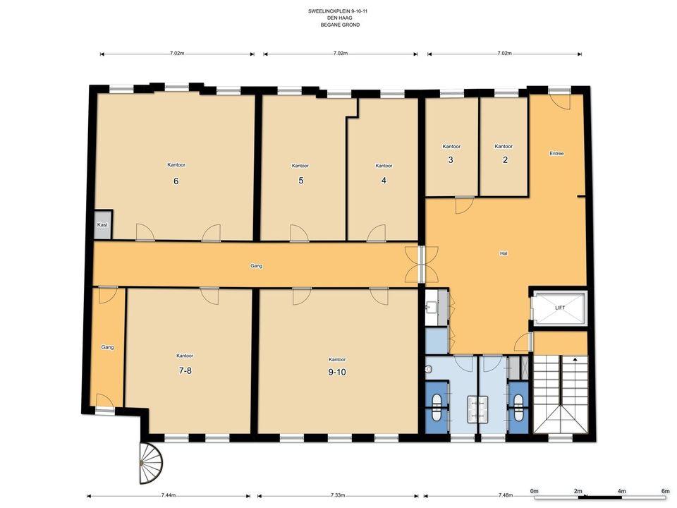 Sweelinkplein 9 -11, Den Haag plattegrond-27