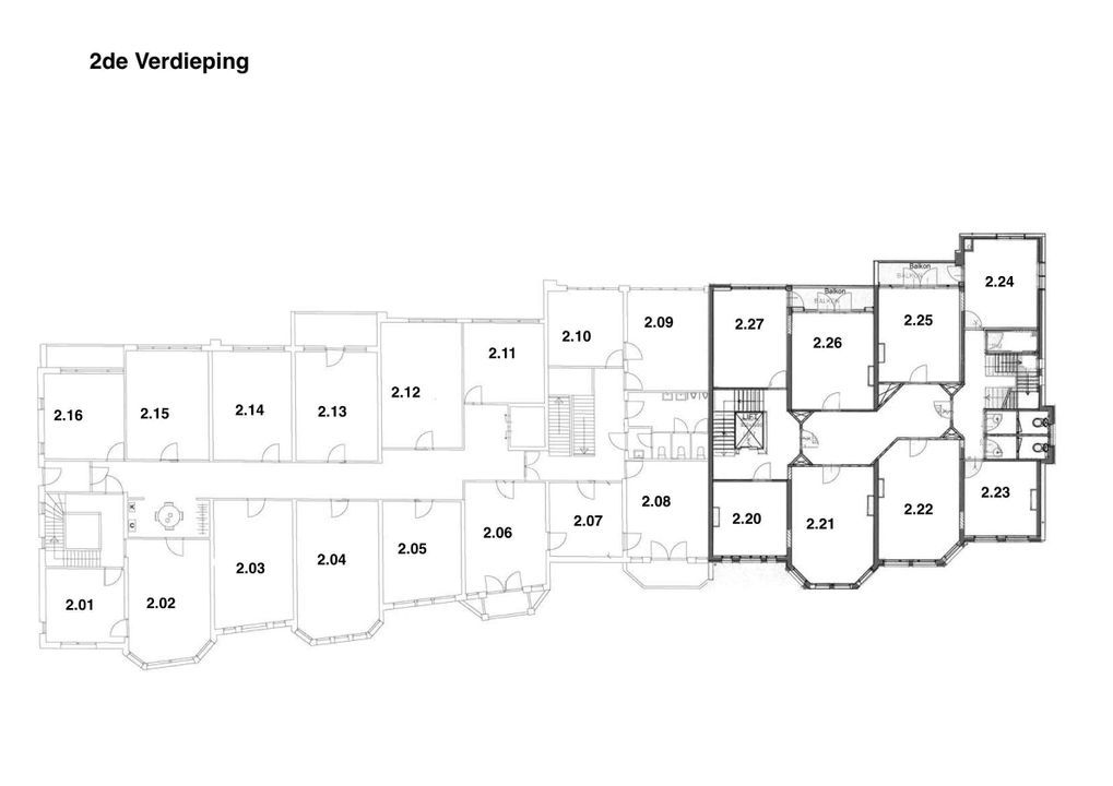 Benoordenhoutseweg 21, Den Haag plattegrond-19