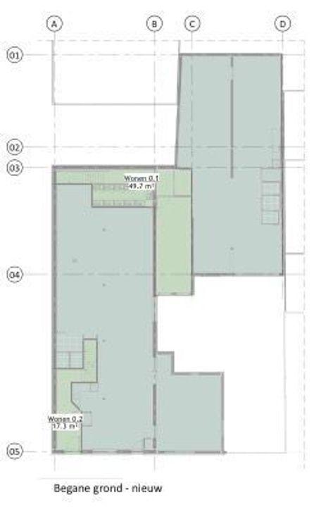 Brouwersgracht 4, Den Haag plattegrond-0