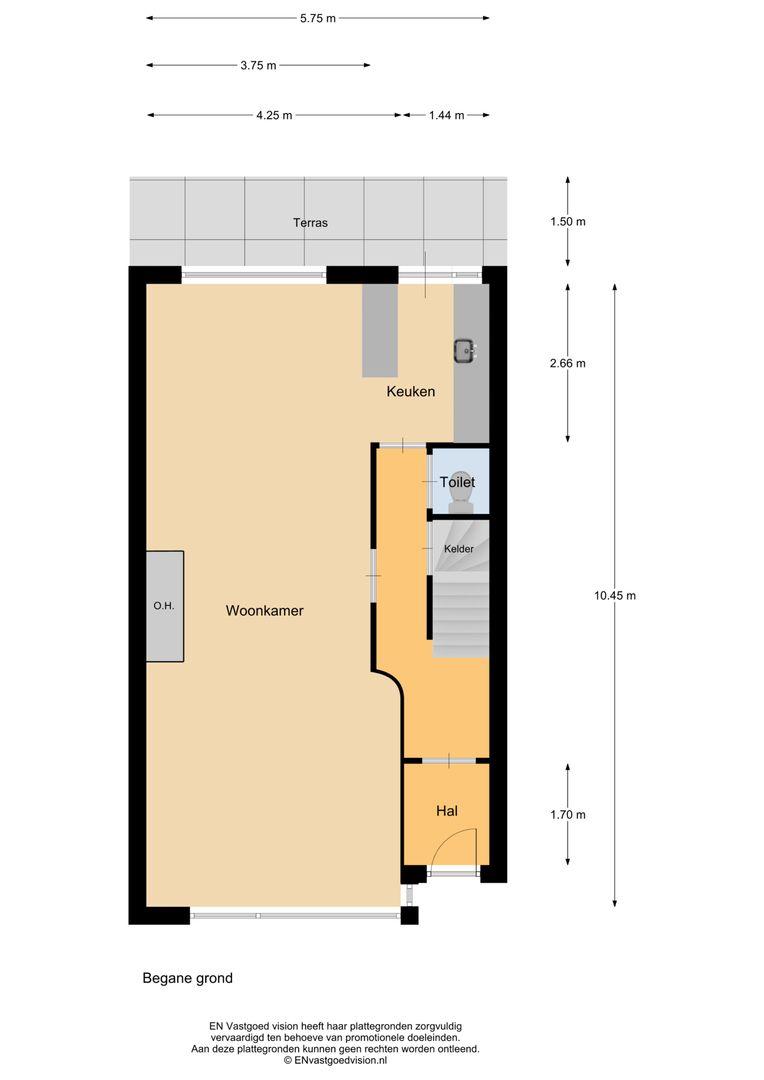 Meindert Hobbemalaan 9, Rotterdam plattegrond-53