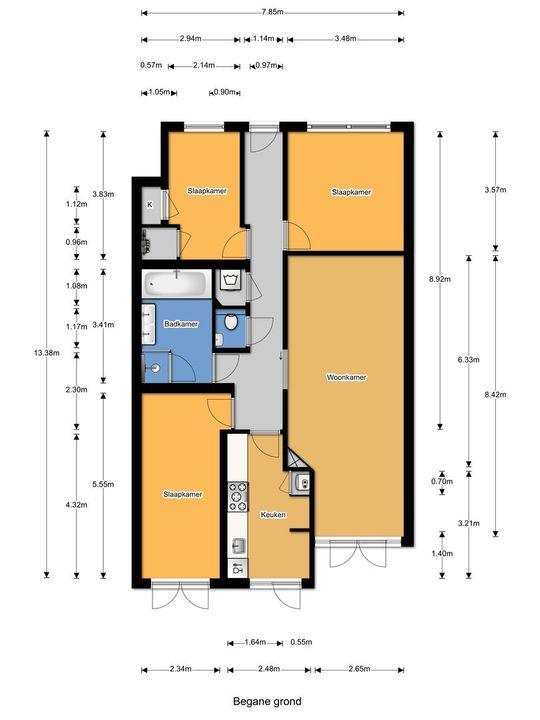 Maystraat 14, Den Haag plattegrond-33